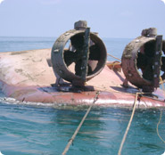 Wreck removal of tugboat